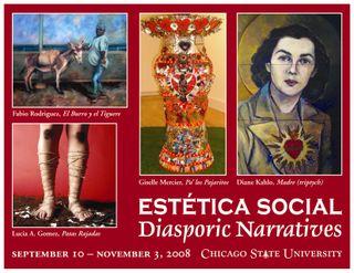 Hispanic Heritage Month 2008 postcard FRONT