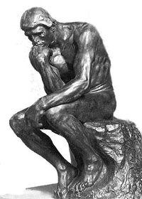 The-thinker Rodin