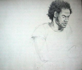 Jeffrey Stewart circa 1973 drawing