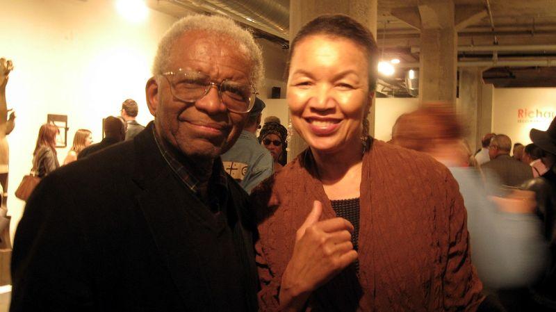 Hunt @ Nnamdi Joyce & Richard Hunt May 2 2009