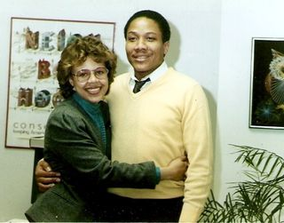 Leanita McClain and Monroe Anderson