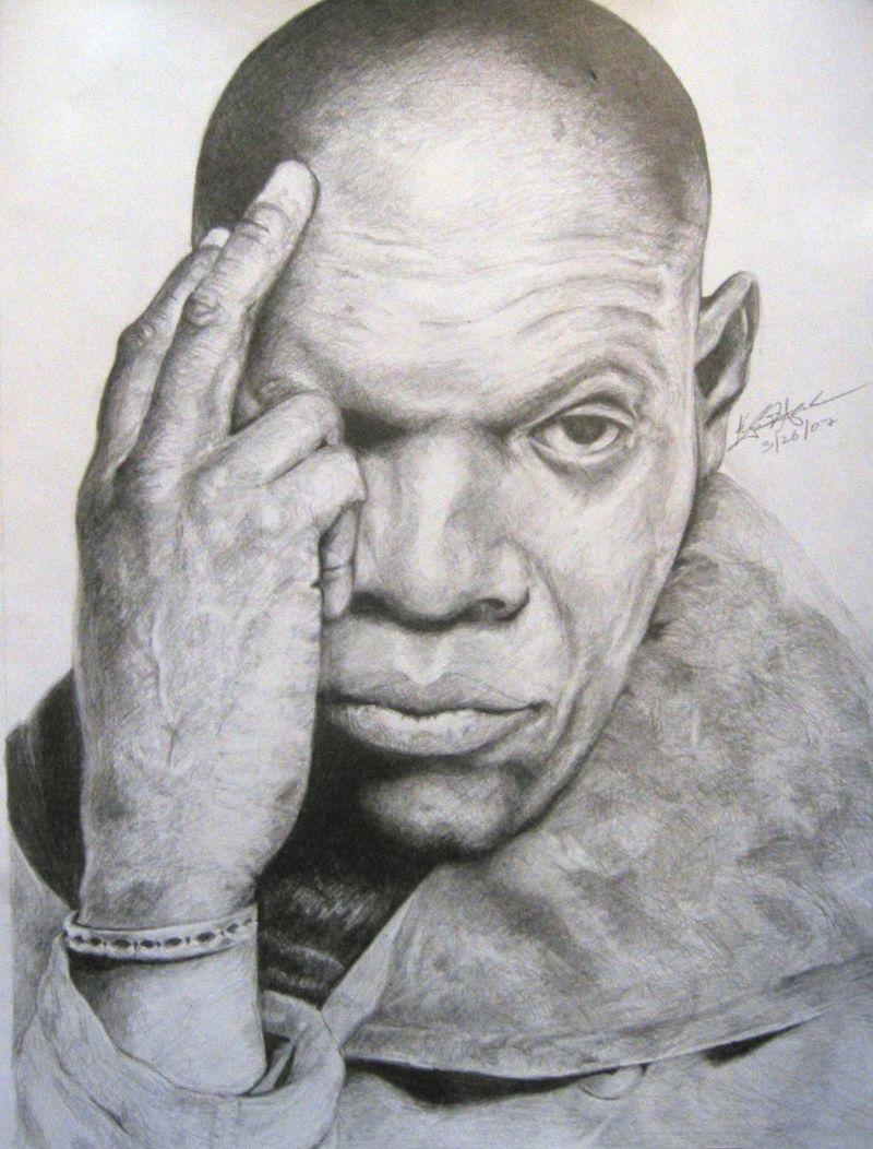 Kyle F Anderson art portrait Jackson