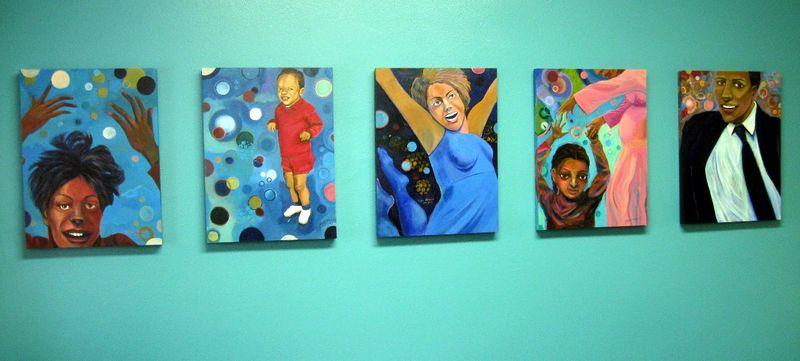 Joy series installed 5 panels