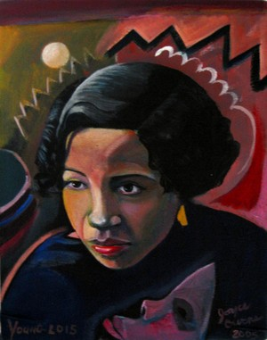 Young Lois Mailou Jones by Joyce Owens