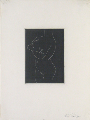 Matisse monotype MoMA not on view CRI_147272