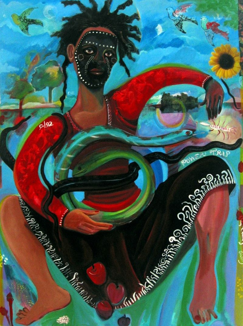 Eve's Power Trip COPY painting by Joyce Owens