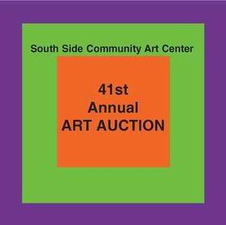 SSCAC art auction logo 41st