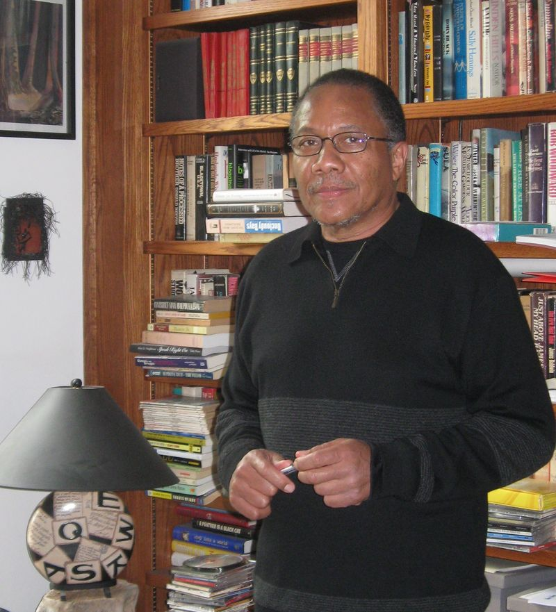 Writer Monroe Anderson, photo by Joyce Owens