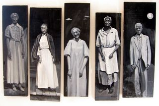 Survivor Spirits in Black and White 2004 Joyce Owens