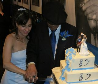 The cake photo by Maggie Reid