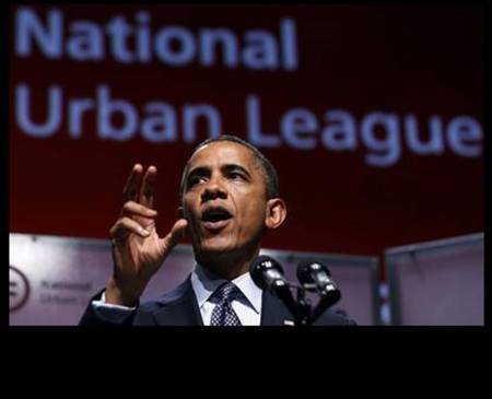 Obama at Urban League